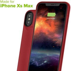 mophie Juice Pack Battery Case iPhone Xs Max RED
